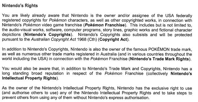 Interdiction de Pokémon Prism par Nintendo 1482344967005331900