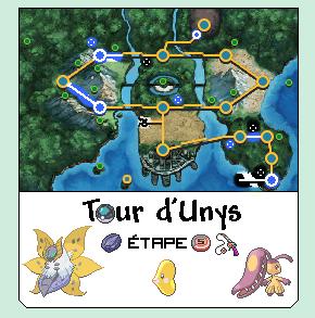[Tour d'Unys] Informations et étapes 1327684968061069300
