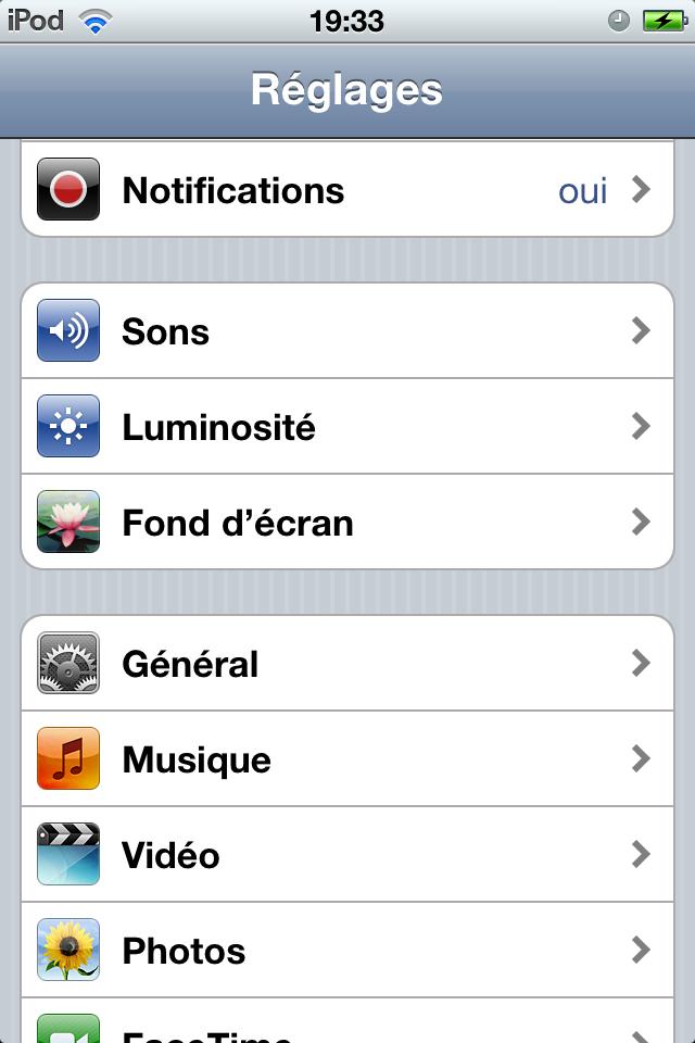 Personnaliser son Ipod touch / iPhone sans Jailbreak 1297893469006776000