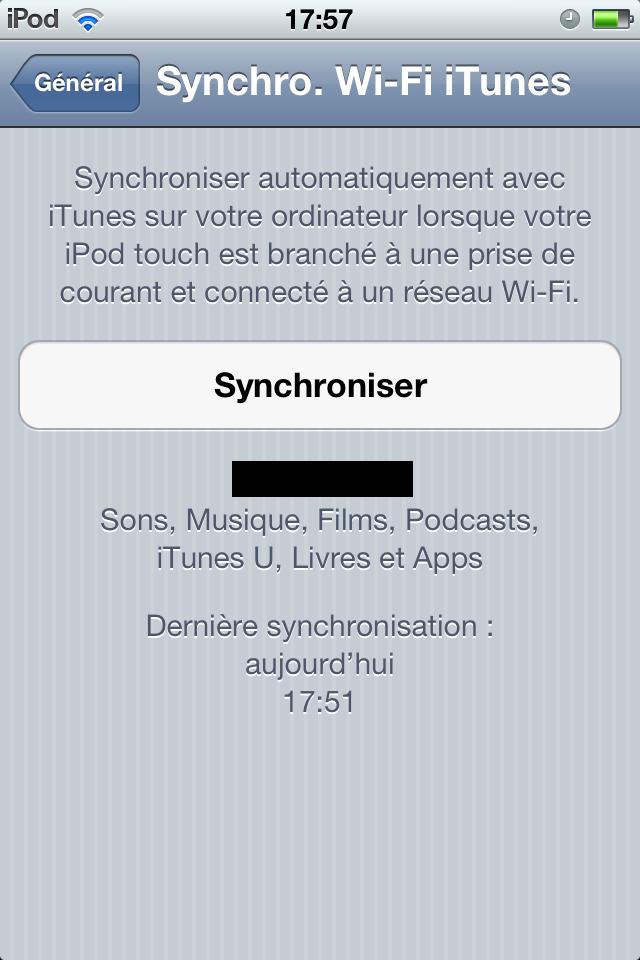 Synchroniser son appareil en wifi 1331571646024085000