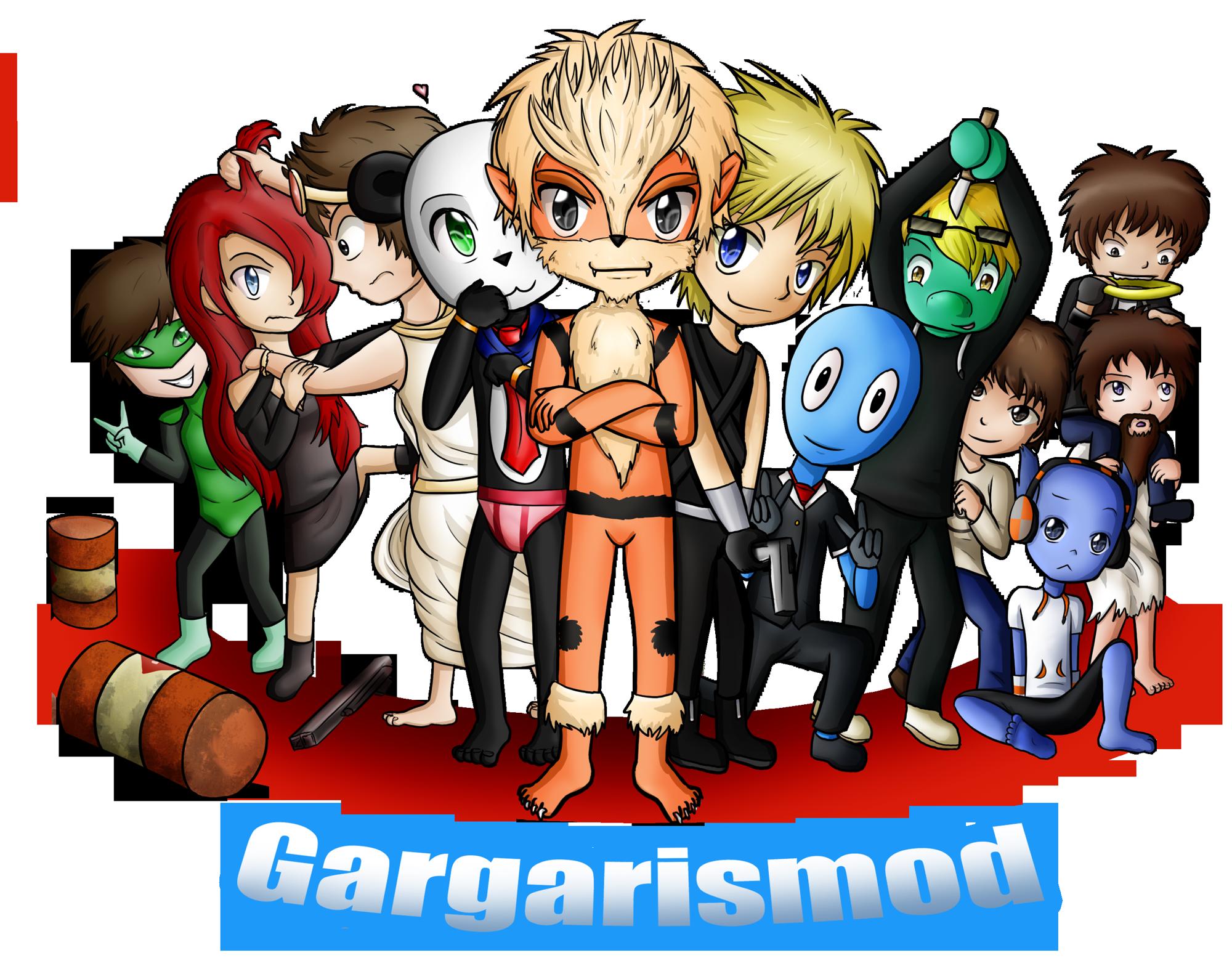 Elspawn - Elspawn et la team Gargarismod