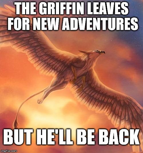Absence - Le Griffon retourne dans sa grotte (BrightGriffin) 1499684588025270700