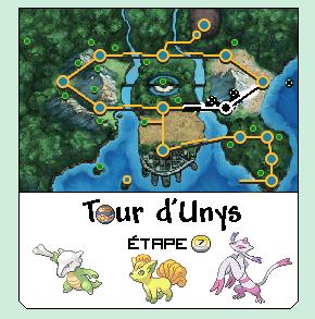 [Tour d'Unys] Informations et étapes 1329301892092087800