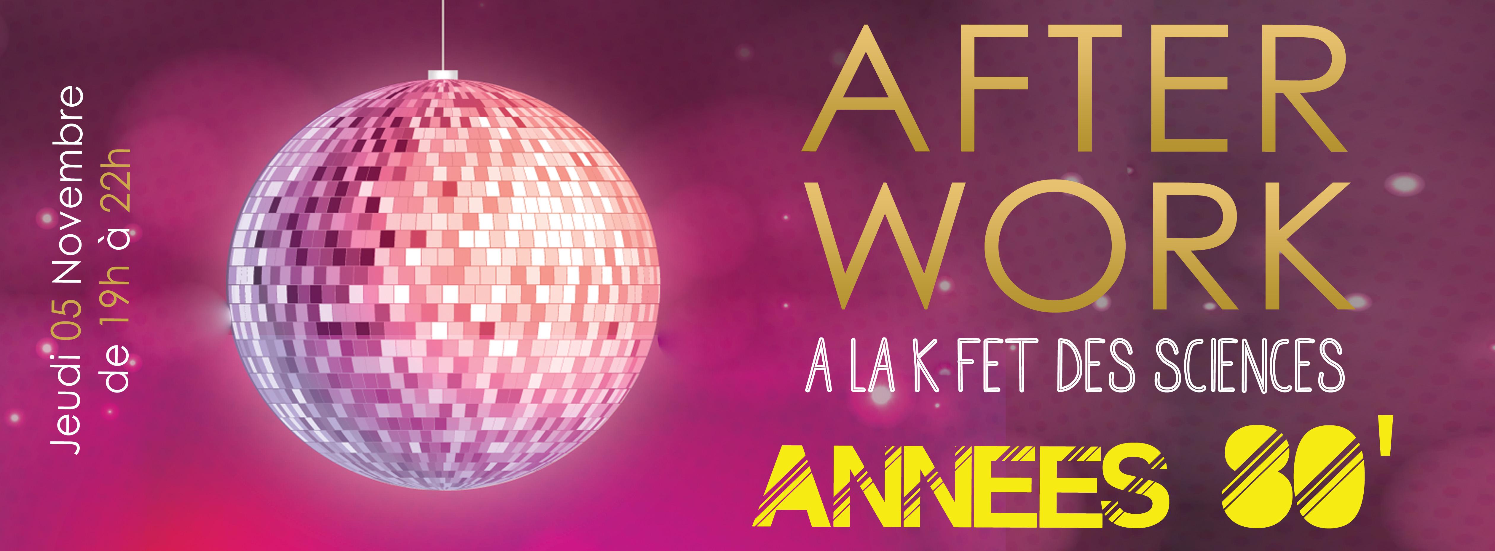 Afterwork Années 80 ADS !