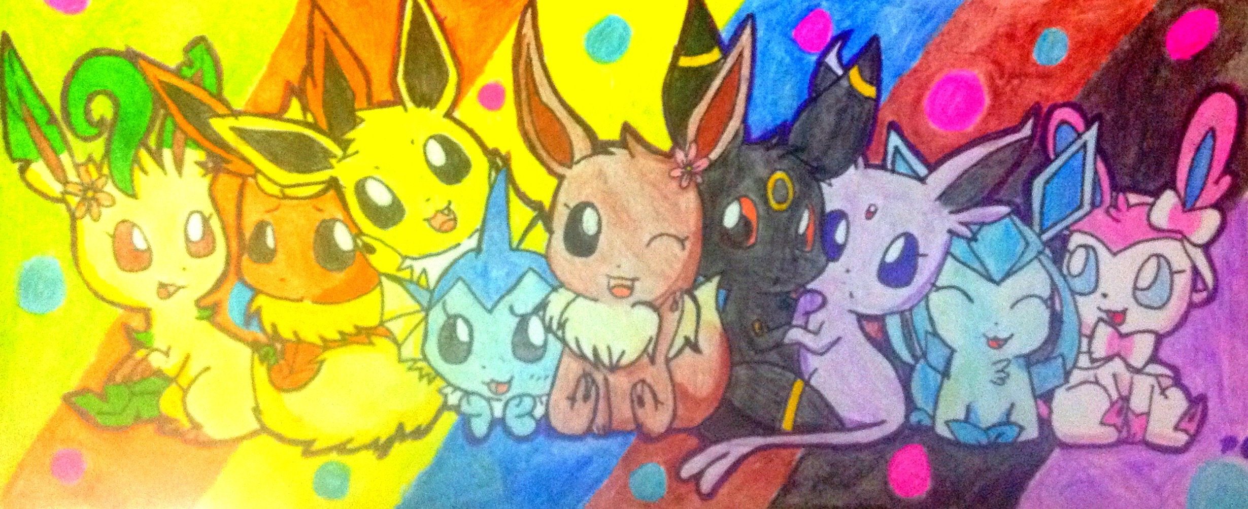Dessin Kawaii Facile Pokemon Evoli Dessin De Manga