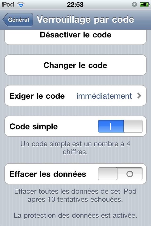 Personnaliser son Ipod touch / iPhone sans Jailbreak 1297894540080222500