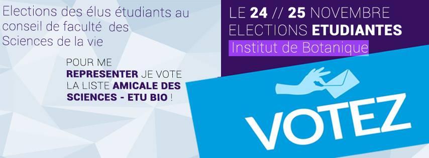 Elections Etudiantes !