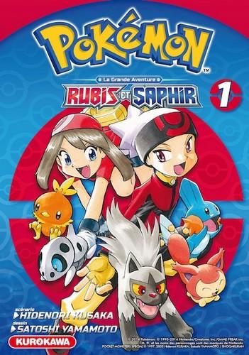 [MANGA] Pokémon La Grande Aventure - Rubis et Saphir 1434487582056357600