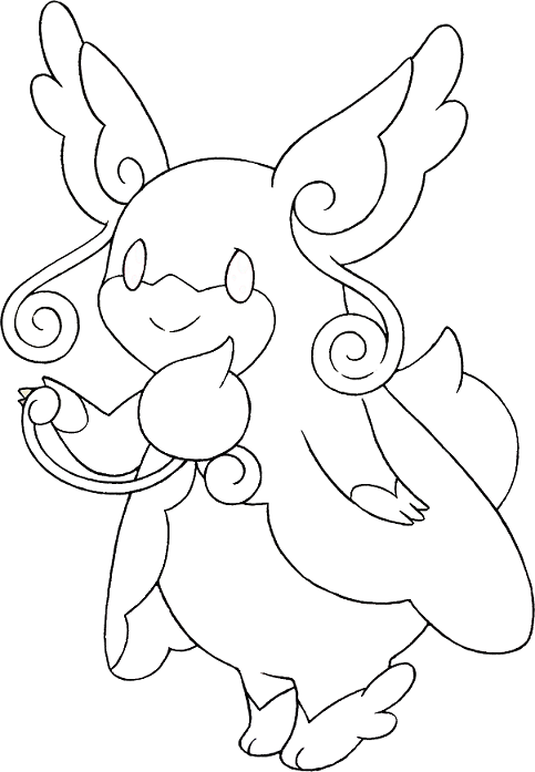 Free coloring pages of pokemon mega riachu ex - Pokemon a colorier ...