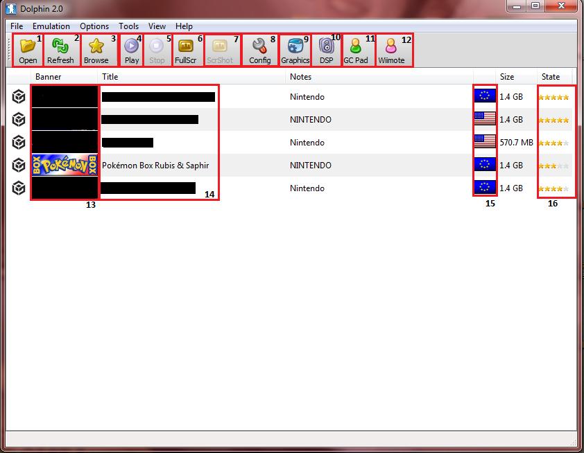 Emulateur Game Cube Dolphin : Explication du logiciel 1274024637035666500