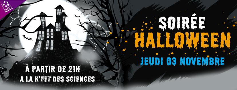 Soirée Halloween 2k16 !