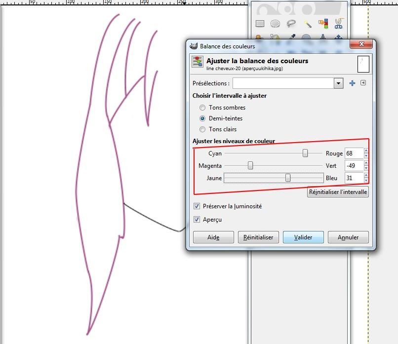 [Tutoriel] Bases du line avec Gimp 1341783434012783900