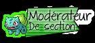 Modérateur de Section
