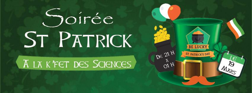 Soirée St Patrick !
