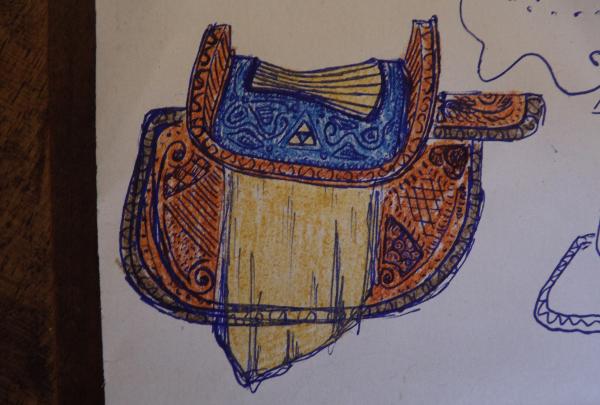 "Créations par Pomponette - p.20 Adaptation selle d'Epona (Jeu vidéo ""The legend of Zelda : Ocarina of Time"") - Page 19 1497710532093603600"
