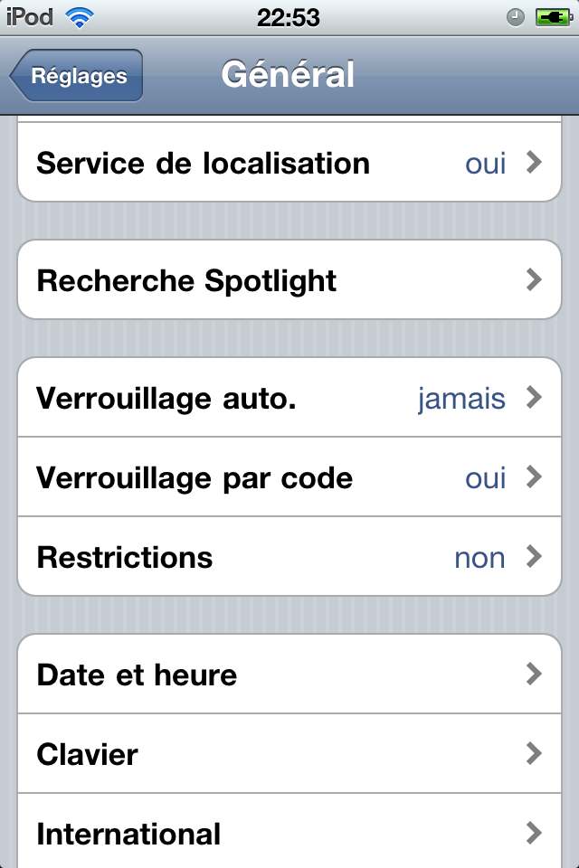 Personnaliser son Ipod touch / iPhone sans Jailbreak 1297894300022194800