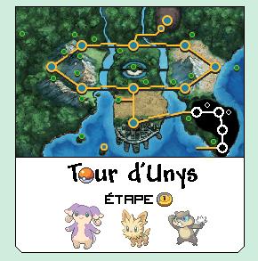 [Tour d'Unys] Informations et étapes 1324931452061433700