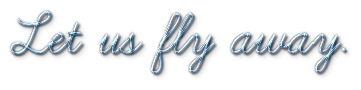 Let us fly away. [feat Italie du Nord] 1458984509006940600