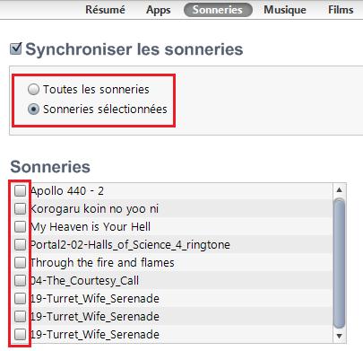 iTunes : la synchronisation 1338133992004122100