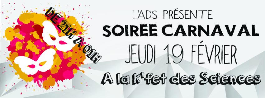 Soirée Carnaval !