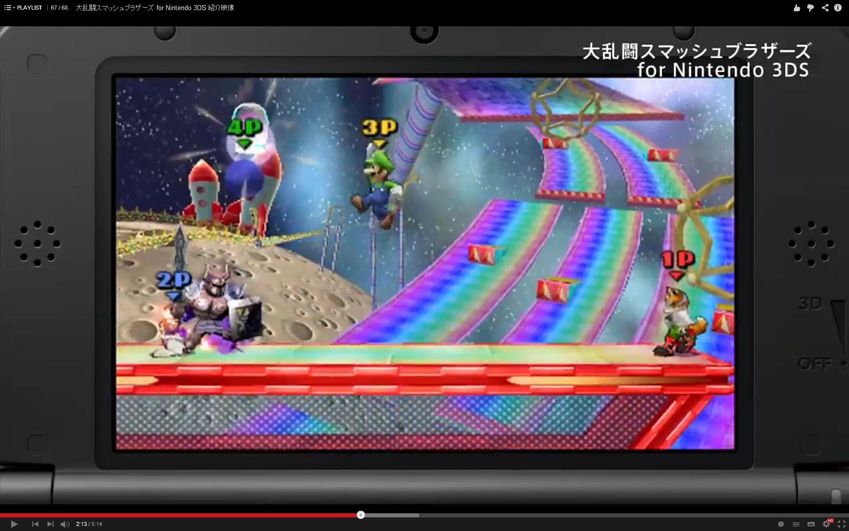 [Officiel] Liste des stages 3DS + nouvelle vidéo 1409319665029965200