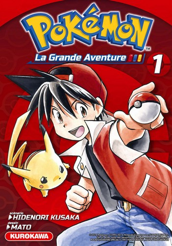 [MANGA] Pokémon la Grande Aventure (Arc Rouge/Bleu/Jaune) 1434480165033169800