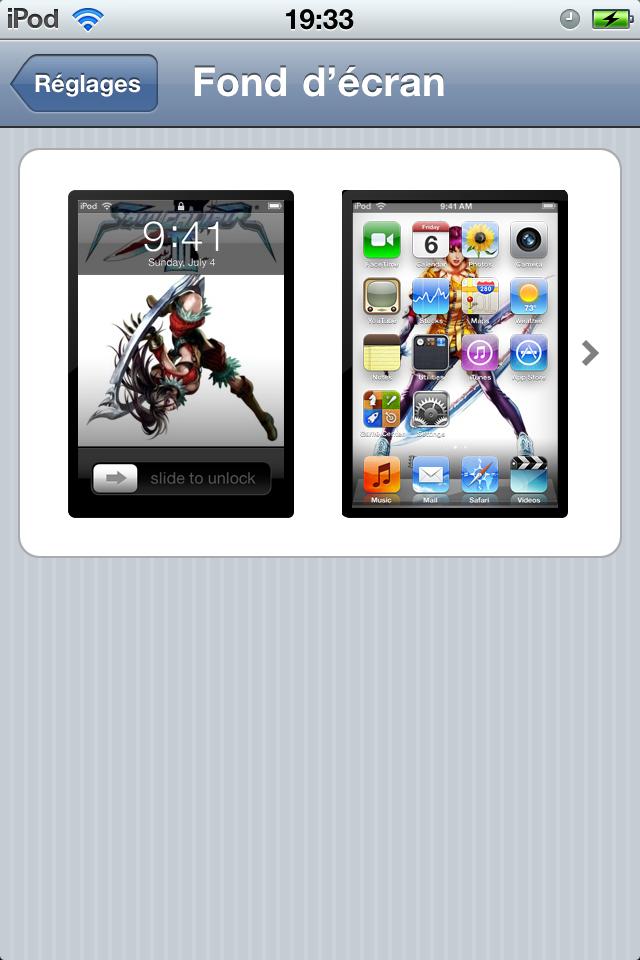 Personnaliser son Ipod touch / iPhone sans Jailbreak 1297893605013902800