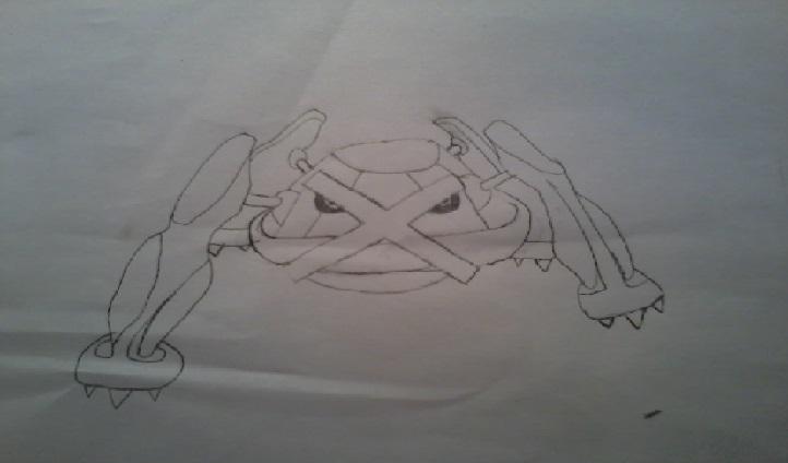 Mon dessin épique de metalosse!! 1404841880067904600