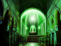 église souterraine