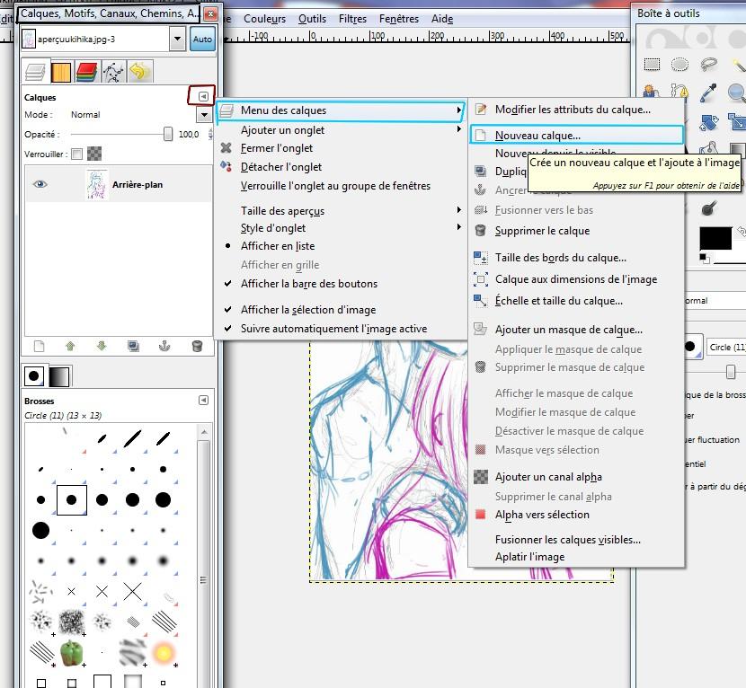 [Tutoriel] Bases de la coloration sur Gimp/Photofiltre (par Showel) 1341813865058815200