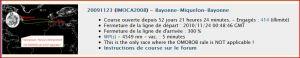 Record Bayonne-Miquelon-Bayonne (VLM) 1263573220029935000